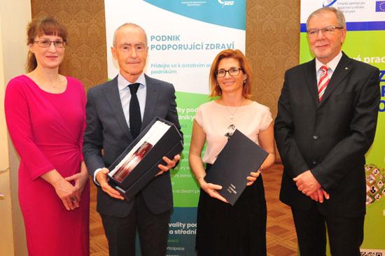 ÚVN - jediné zdravotnické zařízení v ČR s titulem Podnik podporující zdraví
